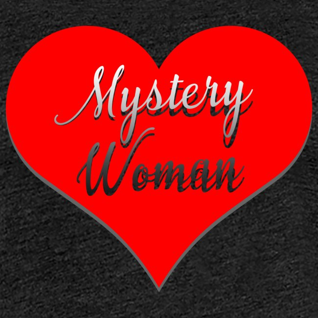 Mystery Woman rotes Herz