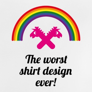 The Worst Shirt Design Ever! (PNG) Baby Shirts  - Baby T-Shirt