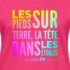 Tee shirt Bio Femme Nuréa TV Terre & Étoiles - Rainbow - T-shirt bio Femme