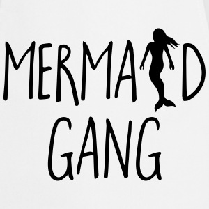 Mermaid Gang Funny Quote Kookschorten - Keukenschort
