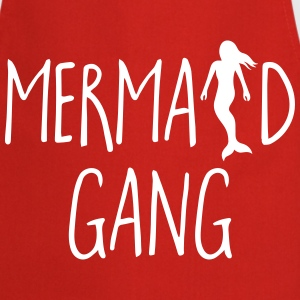 Mermaid Gang Funny Quote  Aprons - Cooking Apron