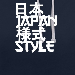 JAPAN Sweat-shirts - Sweat-shirt contraste