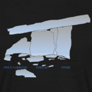Poulnabrone portal tomb - Men's T-Shirt