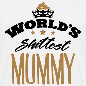 worlds shittest mummy - Men's T-Shirt