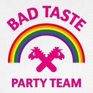 Bad Taste Party Team (Einhorn / Regenbogen) Caps & Mützen - Baseballkappe