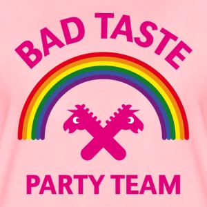 Bad Taste Party Team (Einhorn / Regenbogen) T-Shirts - Frauen Premium T-Shirt