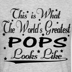 World's Greatest Pops... T-Shirts - Men's T-Shirt