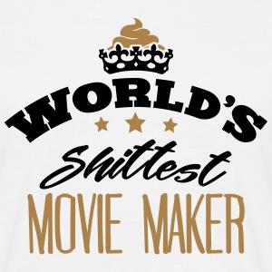 worlds shittest movie maker - Men's T-Shirt
