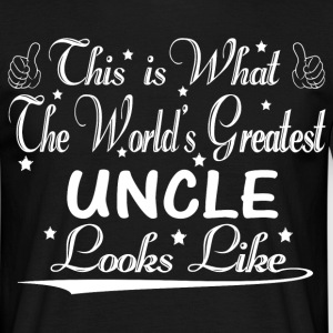 World's Greatest Uncle... T-Shirts - Men's T-Shirt
