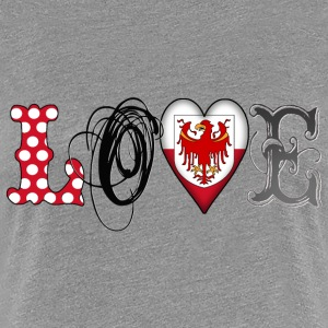 Love Suedtirol Black - Frauen Premium T-Shirt