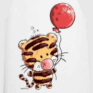 Tiger with balloon  Aprons - Cooking Apron