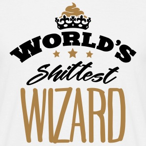 worlds shittest wizard - Men's T-Shirt
