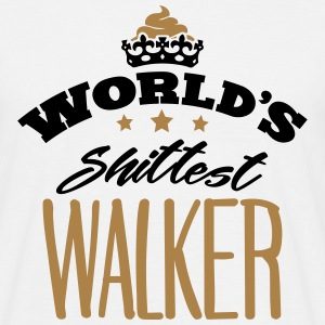 worlds shittest walker - T-shirt Homme