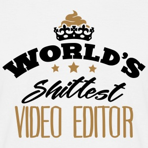 worlds shittest video editor - Men's T-Shirt