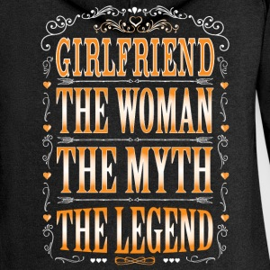 Girlfriend The Legend... Hoodies & Sweatshirts - Women's Premium Hooded Jacket