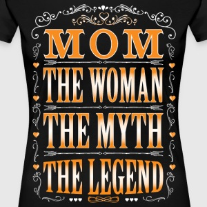 Mom The Legend... T-Shirts - Women's Premium T-Shirt
