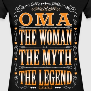 Oma The Legend... T-Shirts - Women's Premium T-Shirt