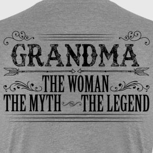 Grandma The Legend... T-Shirts - Women's Premium T-Shirt