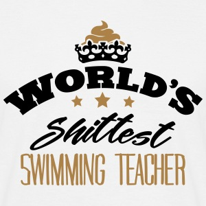 worlds shittest swimming teacher - T-shirt Homme