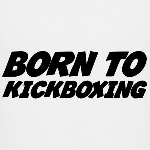 kickboxing / kick boxing / boksning / bokser T-shirts - Teenager premium T-shirt