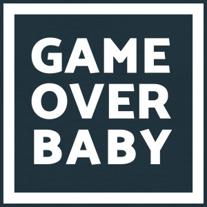Game Over Baby – Spiel Ende (dh) T-Shirts - Männer T-Shirt