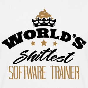 worlds shittest software trainer - T-shirt Homme