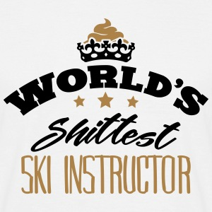 worlds shittest ski instructor - Men's T-Shirt