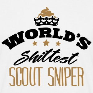 worlds shittest scout sniper - T-shirt Homme