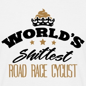 worlds shittest road race cyclist - T-shirt Homme