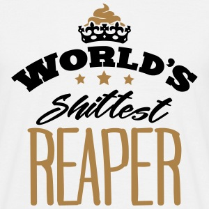 worlds shittest receptionist - Men's T-Shirt