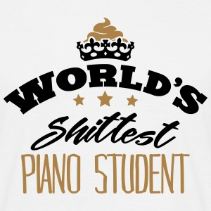 worlds shittest piano student - Men's T-Shirt