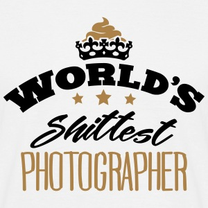 worlds shittest photographer - T-shirt Homme