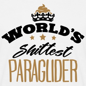 worlds shittest paraglider - Men's T-Shirt