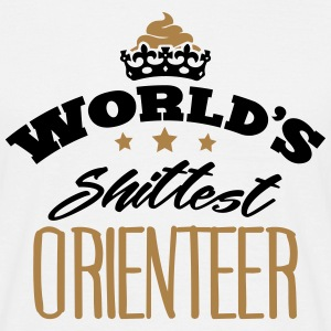 worlds shittest orienteer - Men's T-Shirt
