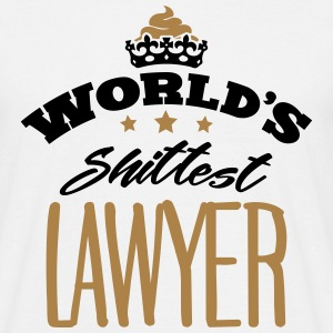 worlds shittest lawyer - Men's T-Shirt