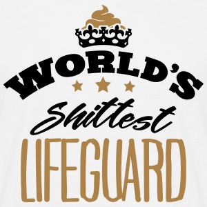 worlds shittest lifeguard - Men's T-Shirt