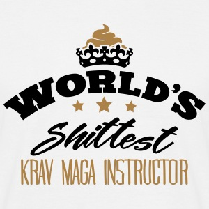 worlds shittest krav maga instructor - Men's T-Shirt