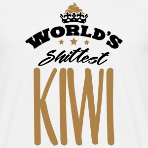 worlds shittest kiwi - Men's T-Shirt