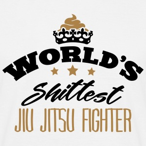 worlds shittest jiu jitsu fighter - Men's T-Shirt