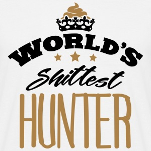 worlds shittest hunter - T-shirt Homme