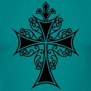 Gothic symbol cross T-Shirts - Men's T-Shirt