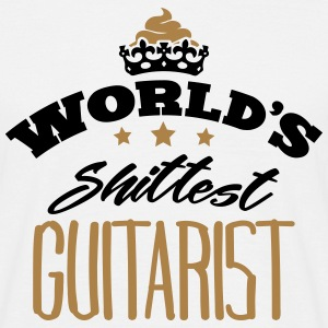 worlds shittest guitarist - Men's T-Shirt