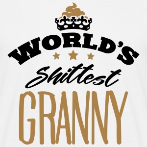 worlds shittest granny - Men's T-Shirt