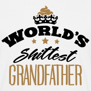 worlds shittest grandfather - Men's T-Shirt