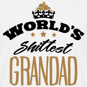 worlds shittest grandad - Men's T-Shirt