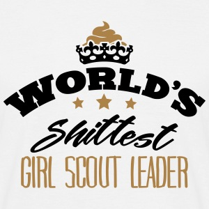 worlds shittest girl scout leader - T-shirt Homme