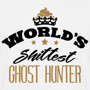 worlds shittest ghost hunter - T-shirt Homme