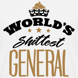 worlds shittest general - T-shirt Homme