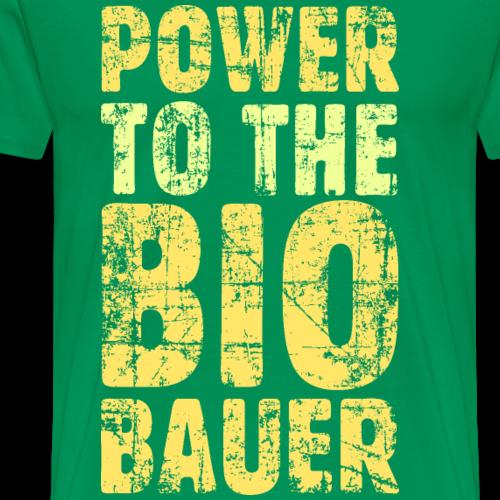 Power to the Biobauer Bio Gelb