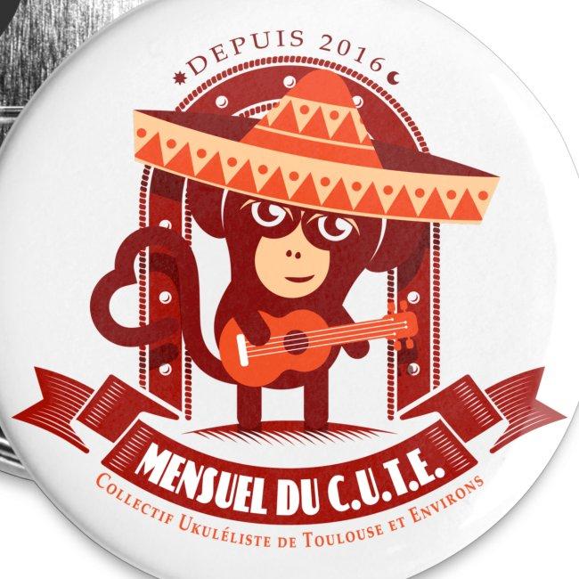 Mensuel Cute Badge